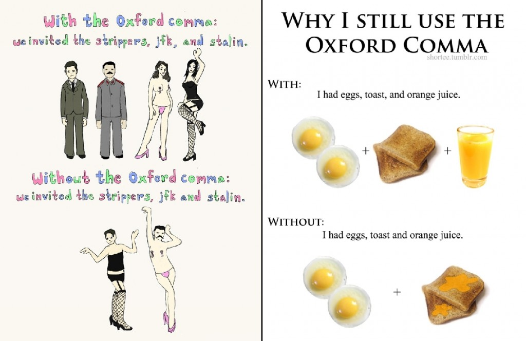 Oxford Comma Comics